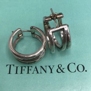 Authentic Tiffany & Co. Sterling Silver Earrings❤️